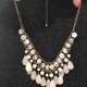 Pink beaded Forever 21 necklace