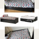 Ikea bed and mattresses for sale