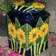 Sunflower Ceramic Jar (Add color to your garden!)
