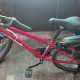 Cheap moutain bike red color 18speeds with bike cover