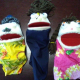 Free handcrafted hand puppets
