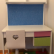 Kids study desk and chair for 4,000JPY