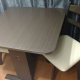 For Sale- Dark Brown Kitchen Table & 2 Chairs - Must go by April 14th!!!