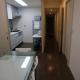 A room in 3LDK shared furnished apartment in Sannomiya, Kobe.