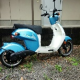 electric bike 50cc with helmet one charge 30yen