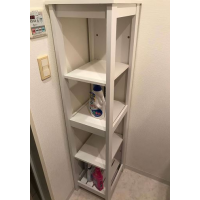 Bathroom shelf unit Nitori