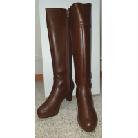 SAYONARA SALE - Brown Below the Knee Boots