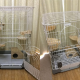 Tall pet enclosure
