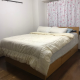 Queen size bed with memory foam mattress 30,000円