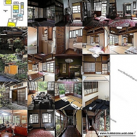 Rooms in a Japanese-style house by the sea (Kamakura city) for RENT.[日本語版あり]